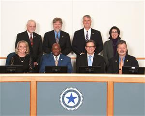 Photo of the SCUC ISD school board.