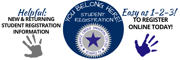 SCUC ISD Student Registration Information and Link.