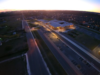 Aerial View of Cibolo Valley Elementary