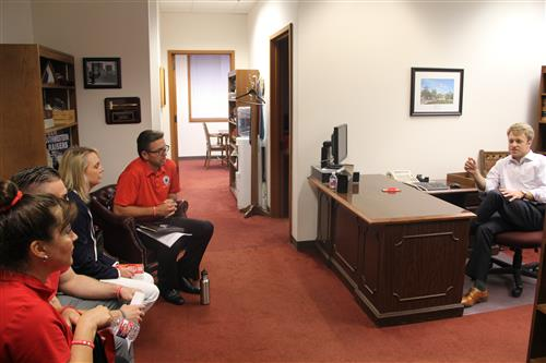 GCT meets with Rep. John Kuempel's office.