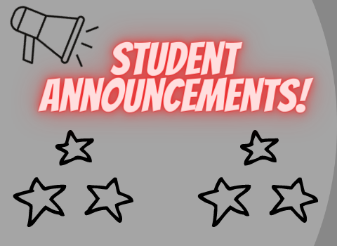 Click here for current important announcements!