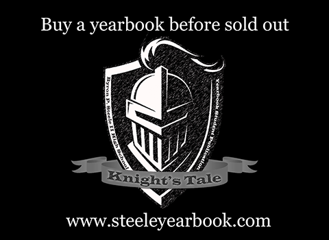 Buy your 2020-2021 Steele Yearbook at www.steeleyearbook.com