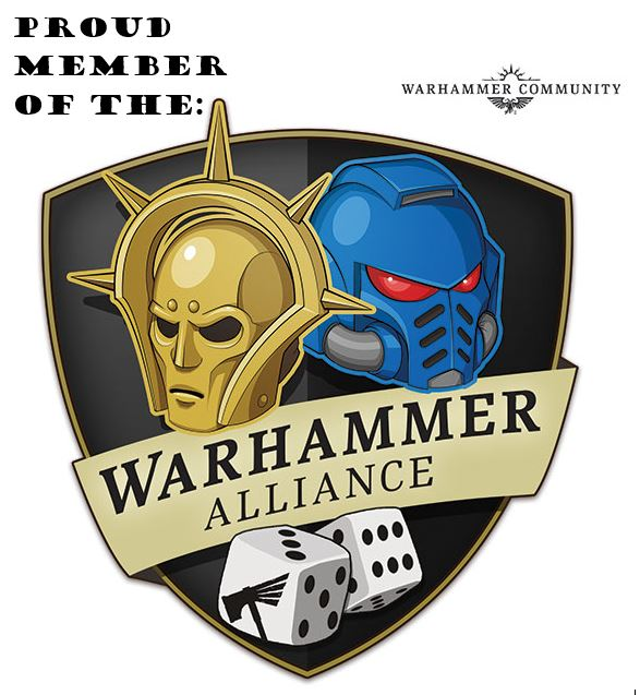 Proud Member of the Warhammer Alliance and Warhammer Community