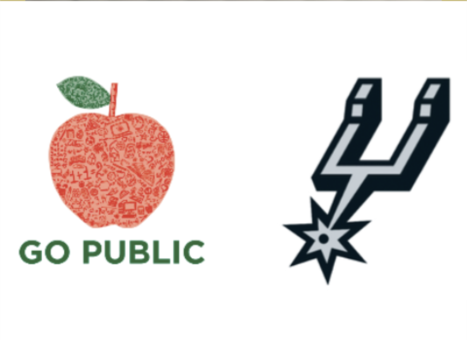 #GoPublic Night at the Spurs