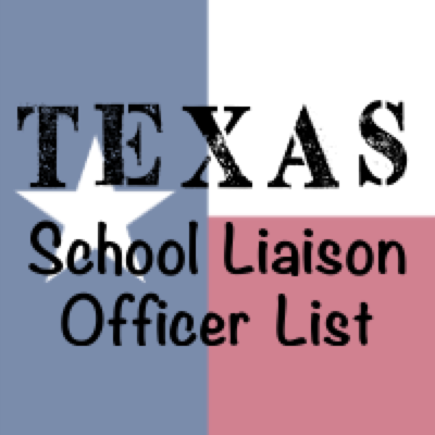 Texas School Liaison Officer List