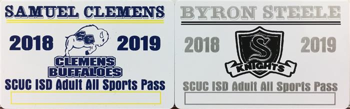 Picture of adult passes