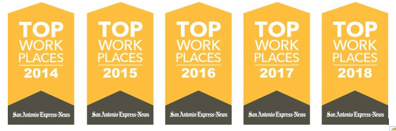 Top Work Places Awards
