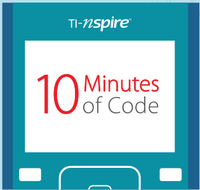 N-Spire logo which says 10 Minutes of Code