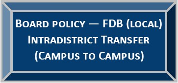 Board Policy - FDB (LOCAL)