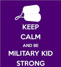keep calm military strong