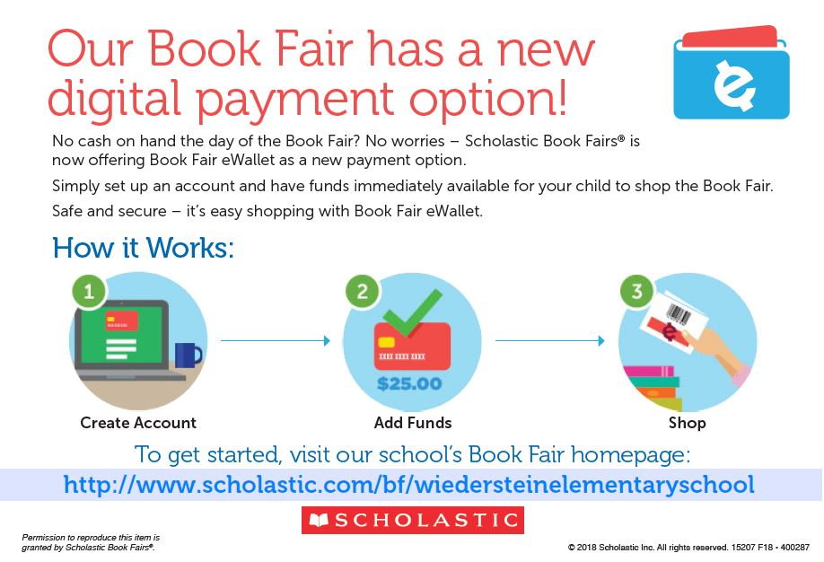 Our Book Fair has a new digital payment option!