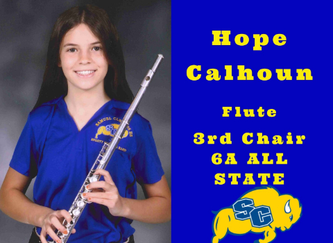 Clemens HS freshman earns All-State honors for flute
