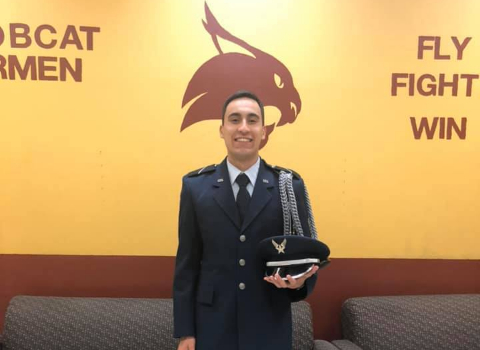 Clemens HS alum wins prestigious Air Force ROTC scholarship