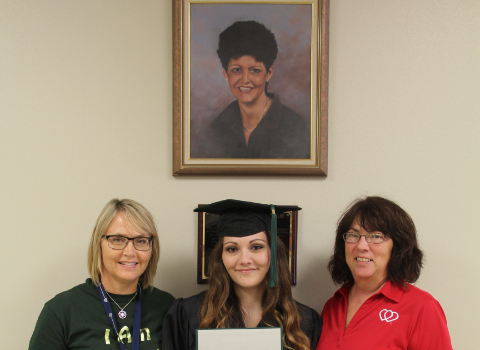New Allison Steele graduate a study in perseverance