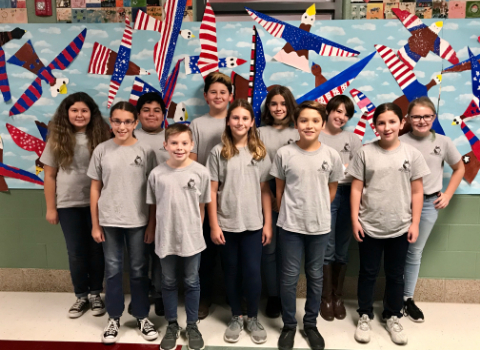 Schlather Intermediate band students crush at Region Band tryouts